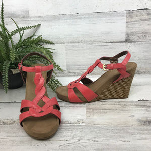 A2 by Aerosoles Coral Wedge Sandals [483s4]